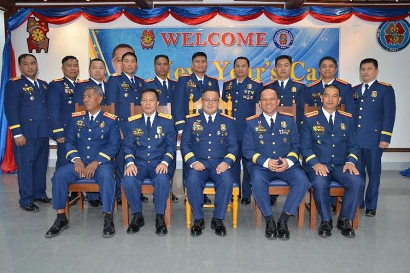 PAMPANGA. Police Regional Office (PRO)-Central Luzon Director Police Brigadier General Rhodel O. Sermonia joins members of the command group, directorial staff, provincial and city directors and directors of regional support units during the traditional New Year's Call at Camp Olivas on Thursday, January 9, 2020. (PR)