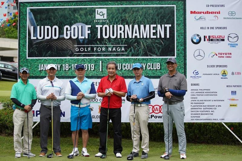 Last year, participants of the Ludo Golf Tournament raised P5 million for the victims of the City of Naga landslide. (Contributed Photo)