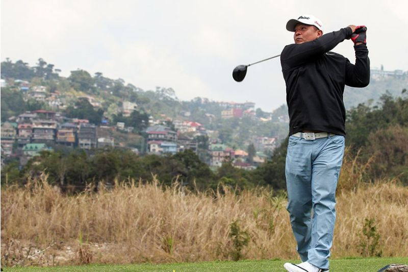 BAGUIO. Local parbusters are set to tee off on February 22 for the 2020 staging of the Flower Tee Golf Tournament at the Baguio Country Club fairways. (Photo by Jean Nicole Cortes)