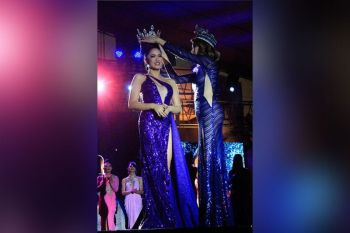 MISAMIS ORIENTAL. Jasaan bet Lars Pacheco is the new Queen of Misamis Oriental 2020. (Photo by Jo Ann Sablad)
