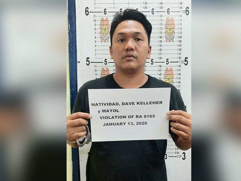 HIGH-VALUE TARGET. Mandaue City Police claims 30-year-old Dave Natividad operated the illegal drug business of his father for two years after the older Natividad was arrested and jailed at the New Bilibid Prison. (Contributed Photo)
