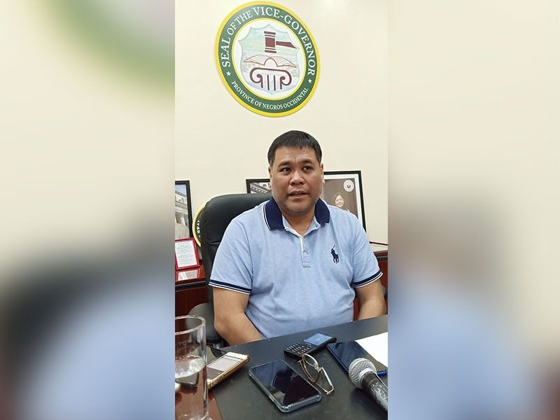 Negros Occidental Acting Governor Jeffrey Ferrer. (File photo)