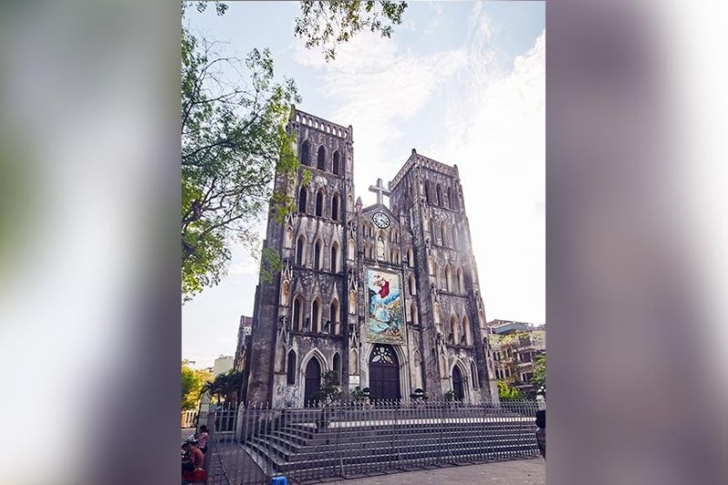 VIETNAM. Mary Anne Guinoo wants to immerse in the arts, culture, and cuisine of Hanoi, Vietnam. St Joseph's Cathedral is a 19th-century neo-gothic style church (Photo courtesy of Wikipedia)