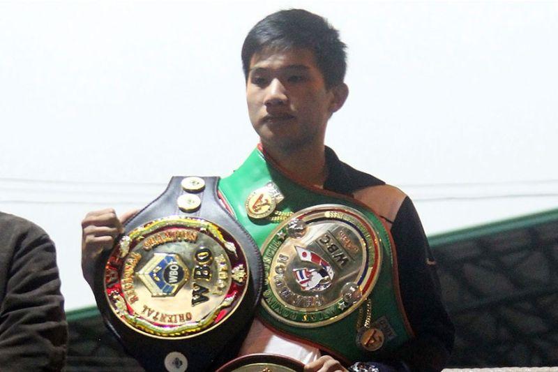 BAGUIO. Ifugao boxing champion Carl James Martin. (File photo)
