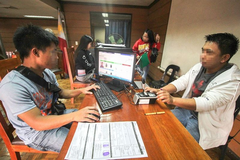 BAGUIO CITY. Based on Resolution No. 10635, the Commission on Elections resumes voter's registration from January 20 to September 30, 2020. (Photo by Jean Nicole Cortes)
