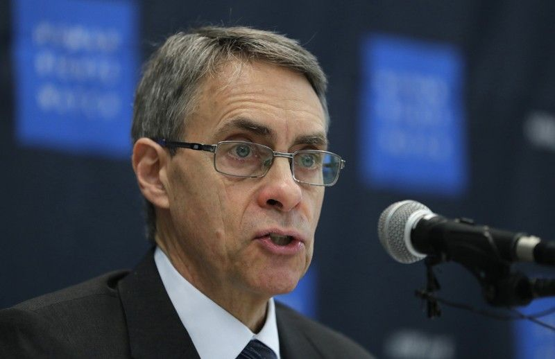"SOUTH KOREA. In this Thursday, November 1, 2018 file photo, Kenneth Roth, Human Rights Watch's executive director, speaks during a news conference in Seoul, South Korea. Human Rights Watch said Hong Kong authorities have barred its executive director from entering the territory. The move Sunday, January 12, 2020 follows China's pledge last month to sanction organizations which it said had ""performed badly"