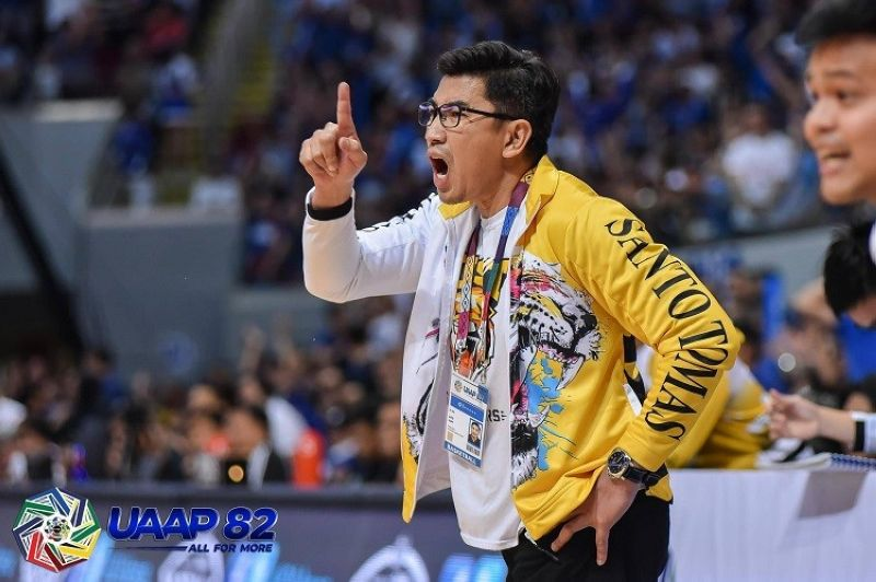 TRYOUTS. None other than UST head coach Aldin Ayo will be overseeing the tryouts. (Photo courtesy of The UAAP)