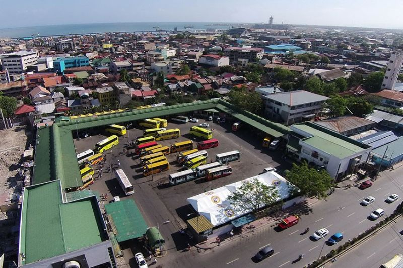 TEMPORARY. The Cebu South Bus Terminal will be closed on Sunday, Jan. 19, 2020, for the Sinulog culminating activity, the grand parade. The temporary terminal would be near the SM Seaside until the end of the parade. (Sunstar File)