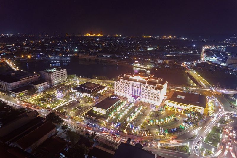ILOILO. The Iloilo Provincial Capitol with its bright lights will be having its own version of Dinagyang 2020 dubbed as