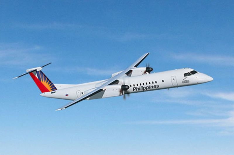 DAVAO CITY. Philippine Airlines (PAL)' Bombardier Q400 NextGen will service the new Davao to Manado route to be launched on March 31, according to the Mindanao Development Authority. (Photo from Philippine Airlines)