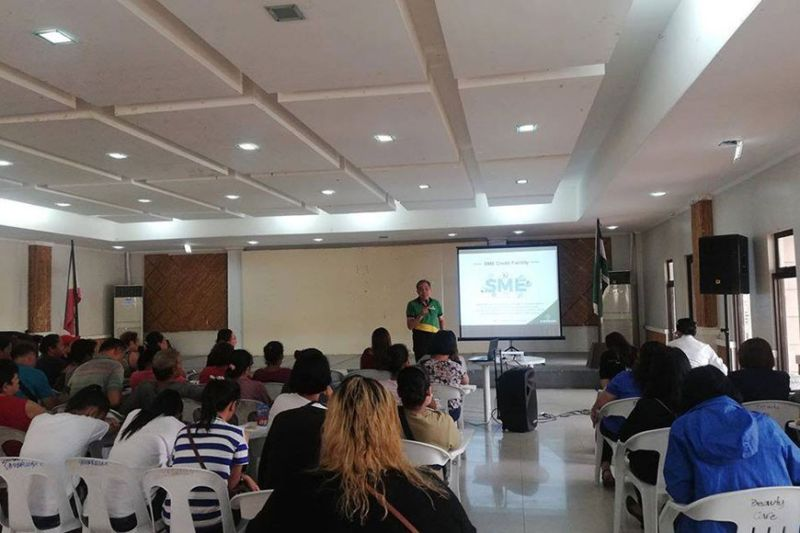 KABANKALAN CITY. Micro, small and medium enterprises in Kabankalan City attend the Financing Forum initiated by the DTI-Negros Occidental, through its Negosyo Center-Kabankalan, in partnership with various financing partners recently. (Contributed photo)