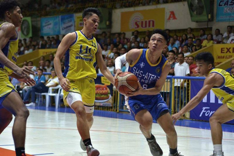 NATIONAL FINALS. Cebu Schools Athletic Foundation Inc. MVP LA Casinillo is hoping to lead Sacred Heart School-Ateneo de Cebu to the national finals. (Contributed Photo / Cesafi Media Bureau)