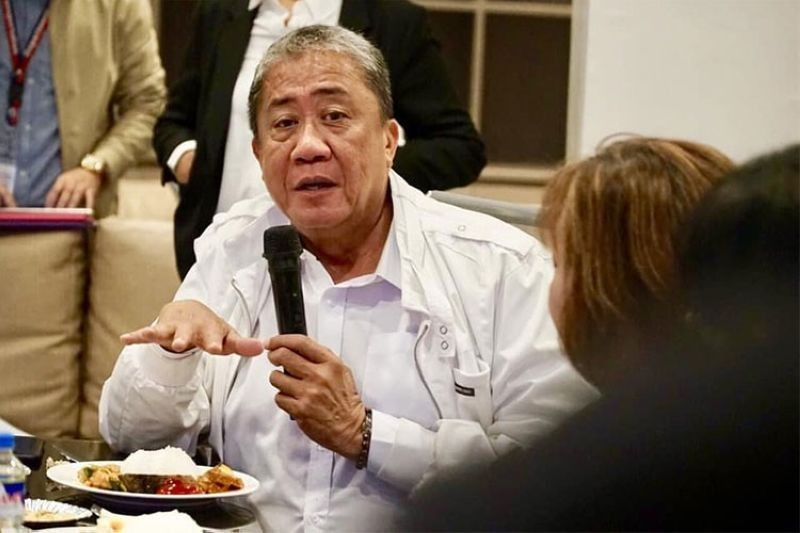 Department of Transportation Secretary Arthur Tugade. (Photo from DOTr Facebook page)