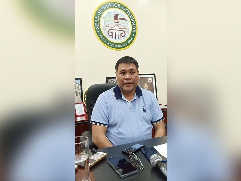 Negros Occidental Acting Governor Jeffrey Ferrer. (File photo)