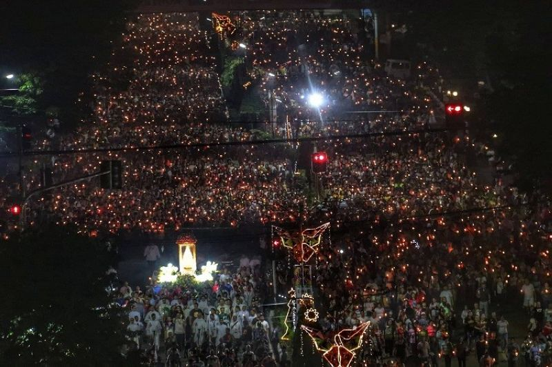 AN ESTIMATED 300,000 devotees joined the annual