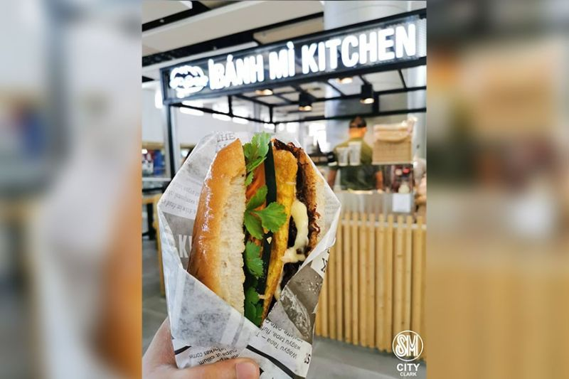 PAMPANGA. Taste authentic Vietnamese sandwiches at Bahn Mi Kitchen at the second floor bridgeway of SM City Clark. (Contributed Photo)