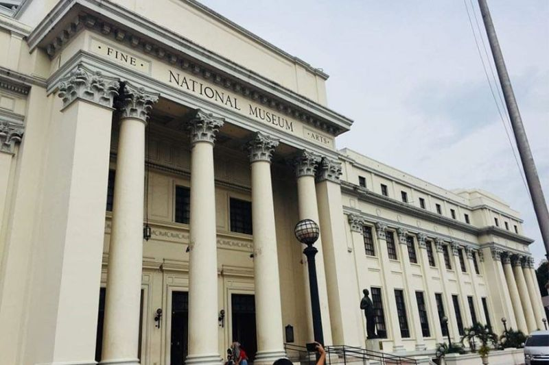 The National Museum of Fine Arts is located at Padre Burgos Avenue, Manila. (Photo by Debb Bautista)
