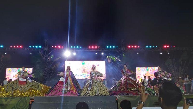 CEBU CITY. Monika Jane Afable of Tribu Rayhak from Borongan City, Province of Eastern Samar was hailed as the Sinulog Festival Queen 2020. (SunStar Cebu via Ryan Tallo)