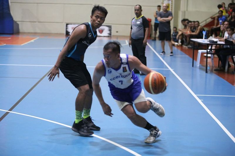 Accenture point guard Junas Misa masterfully led his team to a 1-0 series lead in the semis. (Contributed Photo)