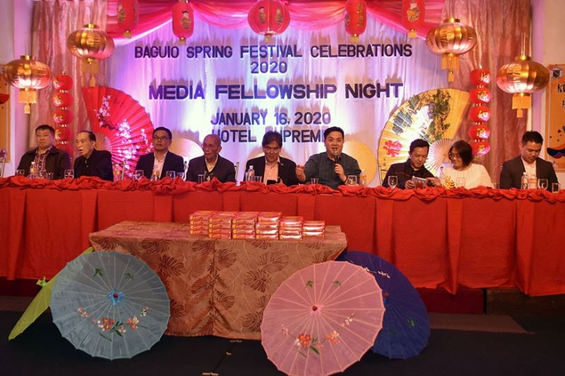 BAGUIO. Filipino Chinese Community Executive Committee member Jeff Ng assures a sustained relationship of the Filipino-Chinese community and the local residents of Baguio City and Benguet with the different activities set to benefit the local communities in Baguio City and Benguet. (Photo by Redjie Melvic Cawis)