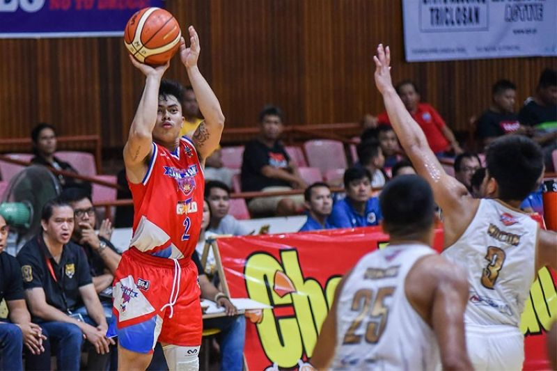 MANILA. Orlan Wamar scored 14 points, highlighted by three three-pointers to help San Juan claim a win in what was a rematch of last year's MPBL finals. (MPBL)