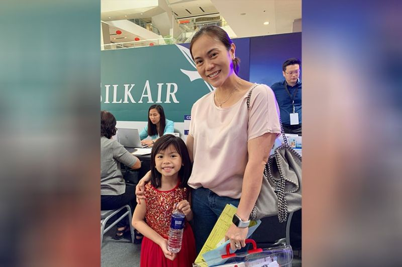 Chuchay Sison is taking her daughter to Legoland via Singapore.