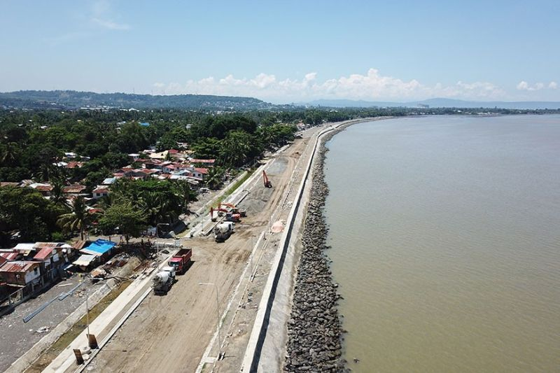 DAVAO. The Coastal Bypass Road will provide Dabawenyos an alternative if they will be coming from or going to the south of Davao City. (Mark Perandos)