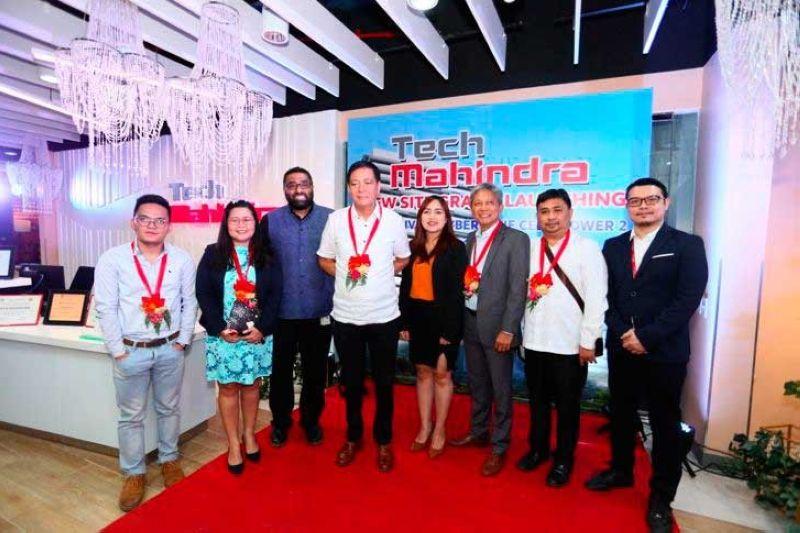 TEAM. John Arfy Ceniza (Philippine Economic Zone Authority Information Officer), lawyer Ann Marie Teresa P. Ortega (Peza Zone Manager 3), Anand Achuthan (Asia-Pacific head, Tech Mahindra), Cebu City Vice Mayor Mike Rama, Joy Abueg (Palawan, ICT president), Jun Saa (managing director, Cebu IT BPM Organization), Cebu City Treasurer lawyer Jerone Castillo and Reynaldo Beluso II (Cebu HR head, Tech Mahindra).