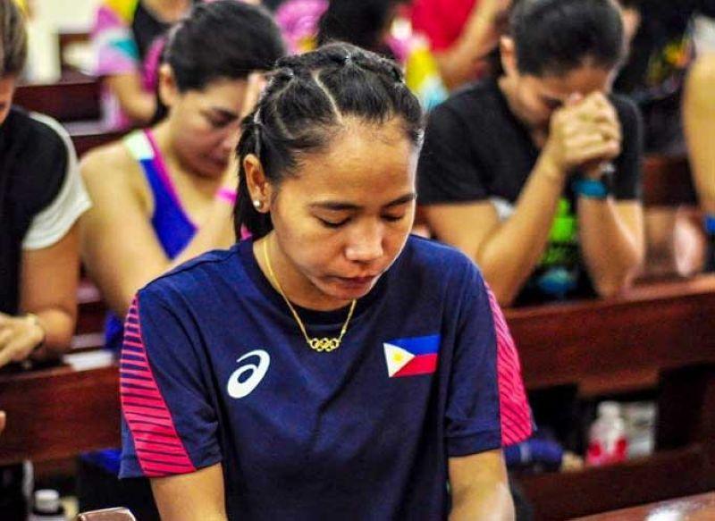 PAKYAS: Napakyas si Cebuana Olympian Mary Joy Tabal pagdepensa sa iyang titulo sa Milo Marathon National Finals women's 42K category kagahapon sa Tarlac City.  (Facebook photo)