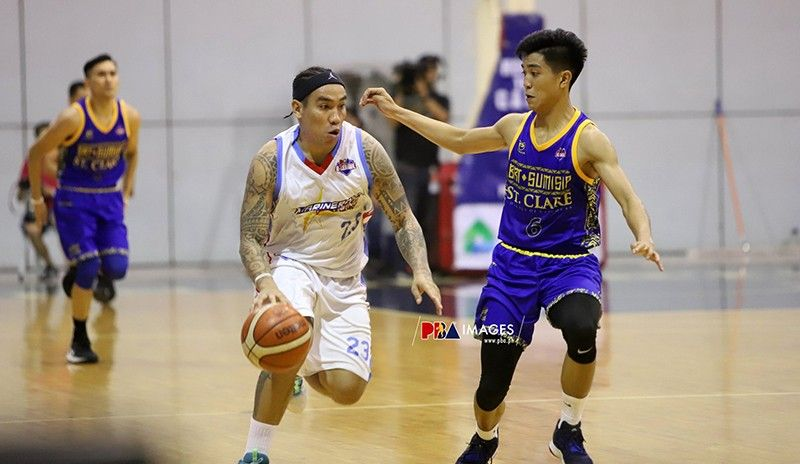 After getting released from detention, Eloy Poligrates says he is going back to Manila and focus on playing basketball. (Photo courtesy of PBA D-League)