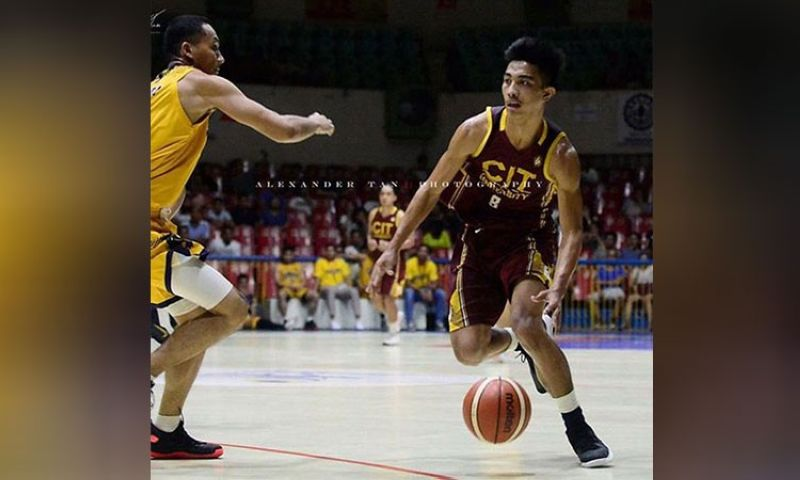 MANILA. Former CIT-U standout Kenny Rogers Rocacurva got picked in the second round by Letran-Wangs. (Alex Tan)