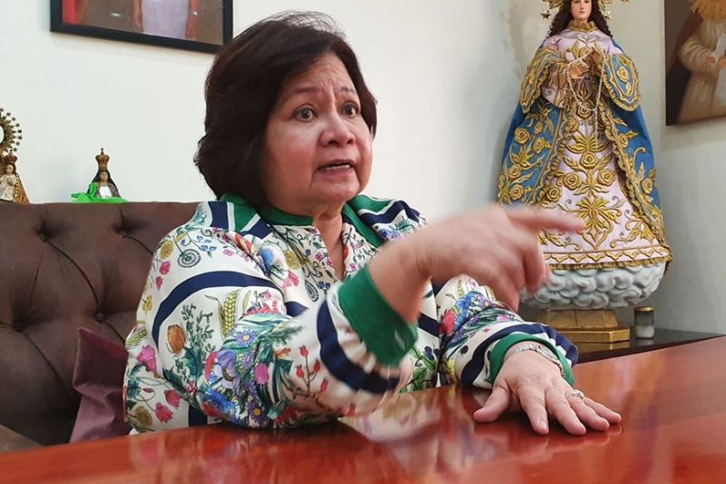 PAMPANGA. Vice Governor Lilia Pineda said Monday, January 20, that Batangas will overcome the eruption of Taal Volcano just like Pampanga when Mt. Pinatubo erupted in 1991. (Chris Navarro)