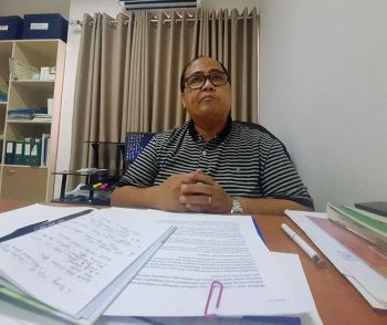 AKLAN. Dr. Cornelio Cuachon said three Chinese nationals were quarantined at the DRSTMH for possible acquiring possible