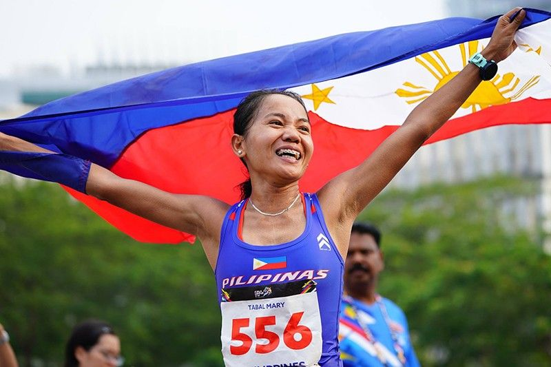 Mary Joy Tabal (SEAGames 2017 official website)