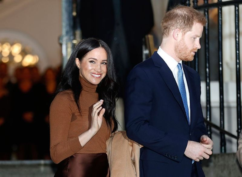 LONDON. In this January 7, 2020 file photo, Britain's Prince Harry and Meghan, Duchess of Sussex, leave after visiting Canada House in London after their recent stay in Canada. (AP)