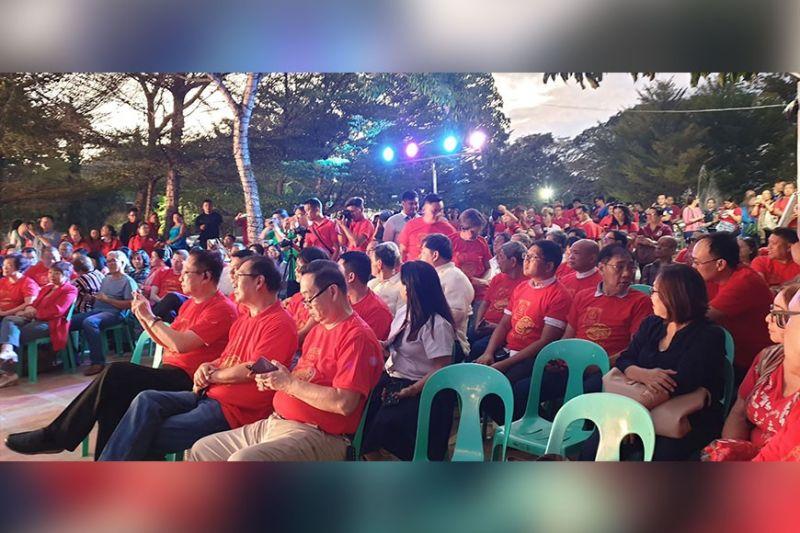 CAGAYAN DE ORO. Ang Filipino Chinese community sa siyudad sa Cagayan de Oro nitambong sa opening ceremony sa kalihokan sa Chinese Festival. (Kris C. Sialana)