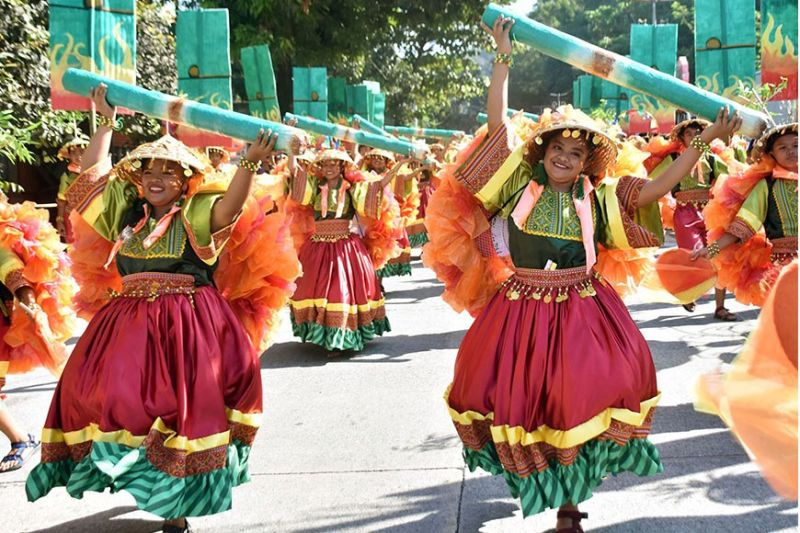 LA UNION. Pugo Catholic School bagged its fourth title in the street dancing competition of the 4th Tinungbo Festival as part of the 108th Foundation Day celebration of the town of Pugo in La Union over the weekend. (Redjie Melvic Cawis)