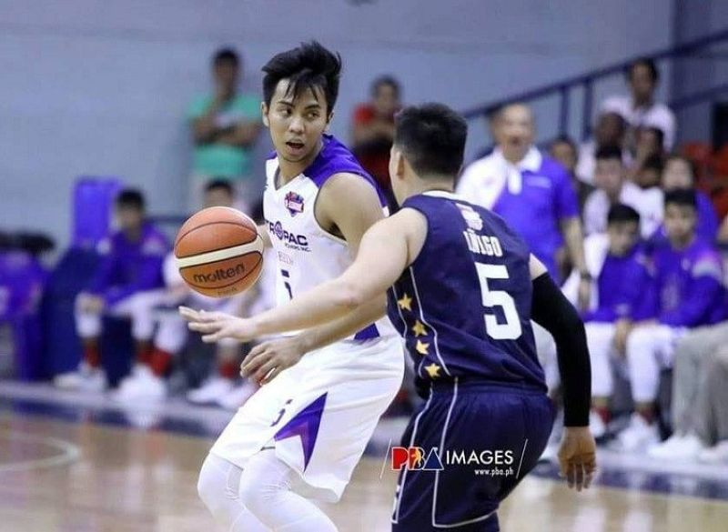 OBEZA LEAVES. Ain Obenza says the lack of exposure led him to decide to leave San Beda in favor of Arellano University. (Photo courtesy of PBA D-League)