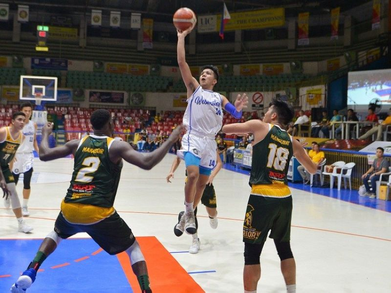 FAMILIARITY. Marinerong Pilipino head coach Yong Garcia explained that his familiarity with players like Darrell Menina was what led him to select several Cesafi standouts in the PBA D-League Draft. (Contributed photo)