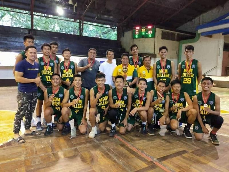 BACOLOD. MDM College in posterity after a convincing victory over Vito National High School of Sagay City over the weekend to capture the title of the recently concluded NBTC Silay-Sagay leg. (NBTC Silay-Sagay Photo)
