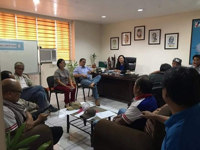 BACOLOD. Provincial Farmers' Action Council (PFAC) headed by its re-elected PFAC president Nicolas Narajos holds its meeting at the National Food Authority (NFA) - Negros Occidental Office in Bacolod City Wednesday, January 22, 2020. NFA provincial manager Josephine Venus Castillo, who was present at the meeting, is looking forward to a good relationship with the farmers in the province. Castillo answered the concerns raised by the members specifically on palay prices and incentives. Acting Assistant Provincial Manager Epifanio Cosca and Provincial Industry Services Officer Cynthia Luz Fregil Chua were also present in the meeting. (Contributed Photo)