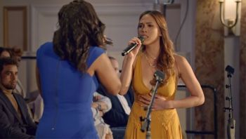 EGYPT. Christine Allado performs