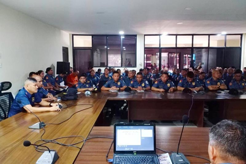 Negros Occidental Police Provincial Office (Nocppo) holds workshop on Barangay Drug Clearing Operations at Camp Alfredo M Montelibano Sr., Bacolod City on January 22, 2020. (Contributed photo)