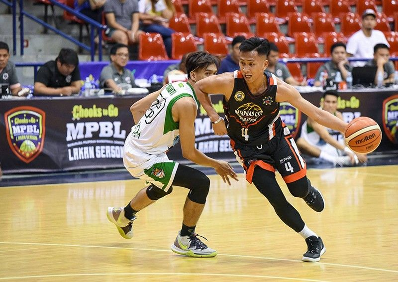 Rey Suerte scored Batangas City's last eight points to help give them the crucial win. (MPBL photo)