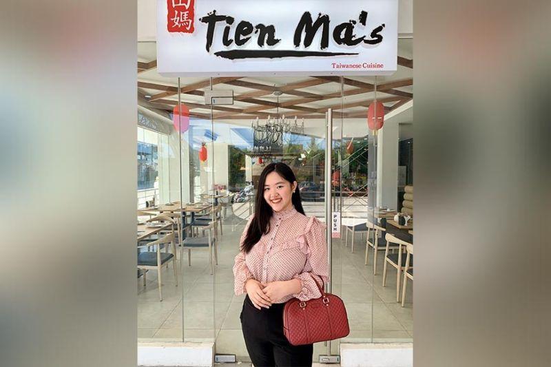 TIEN MA'S marketing head Elisha Janelle Mendoza.