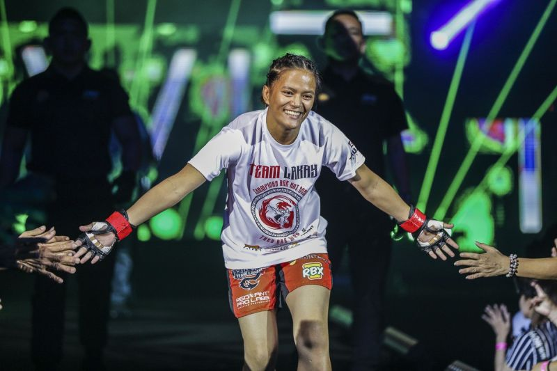 BACK FOR MORE. After 11 months of absence in ONE Championship, Gina Iniong returns on Janaury 31 at the Mall of Asia Arena. (ONE Championship photo)