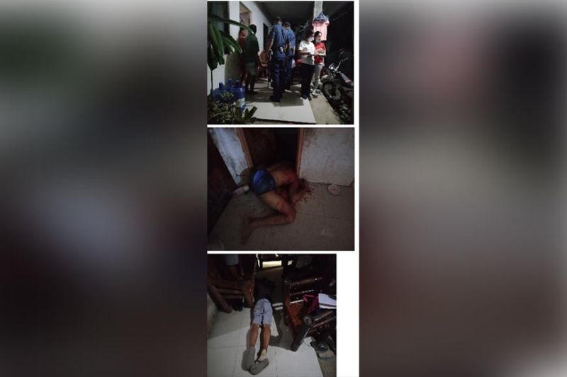 Police are still looking into the possible motives in the killing of a police personnel and a civilian while inside their house in Santiago, Iligan City Thursday, January 23. (Iligan City Police photo)
