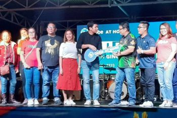 Gingoog City officials led by Mayor Erick Cañosa and Globe executives launched on Friday, January 24, the city's first Globe at Home Fiber Facility, citing high demand of internet access in the city. (Photo by Alwen Saliring)