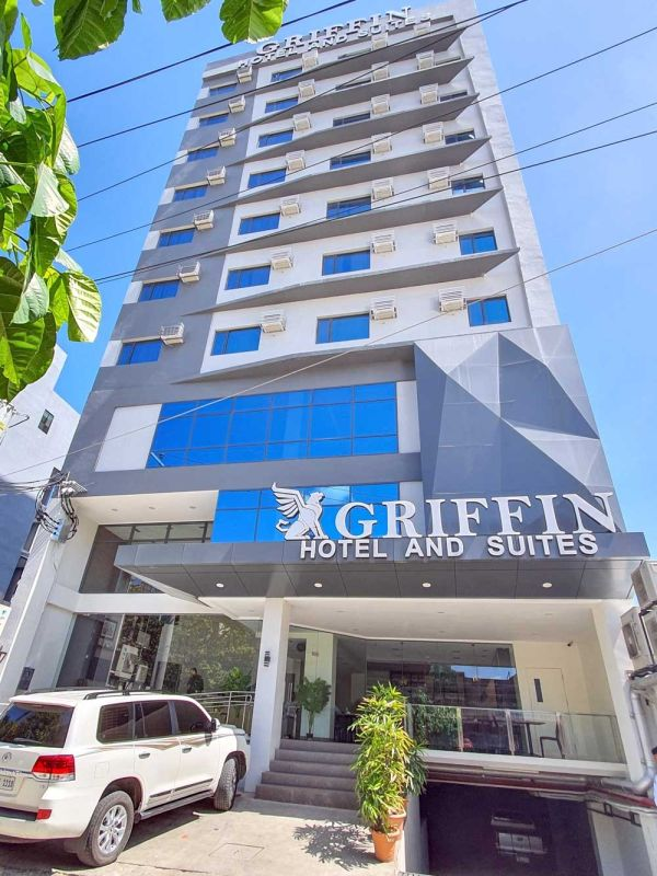 ADDITIONAL ROOM SUPPLY. The 11-story Griffin Hotel and Suites, which has 56 rooms, is strategically located  near big hospitals in Cebu City. (SUNSTAR FOTO / ARNI ACLAO)