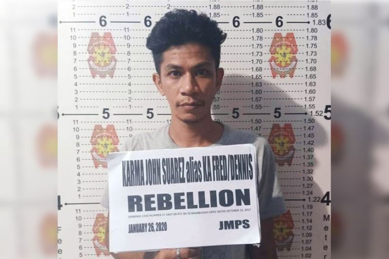 ILOILO. The Police Regional Office-Western Visayas releases the mugshot of  Karma John Suarez, 34, who goes by the aliases